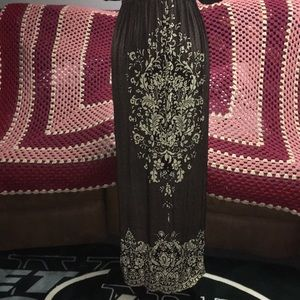 Just Love Dresses - Long dress with print